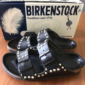 Birkenstock X Barneys Arizona Studded